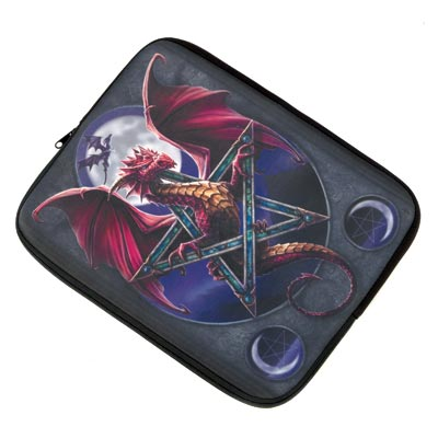 Lunar Magic Dragon Laptop Sleeve.